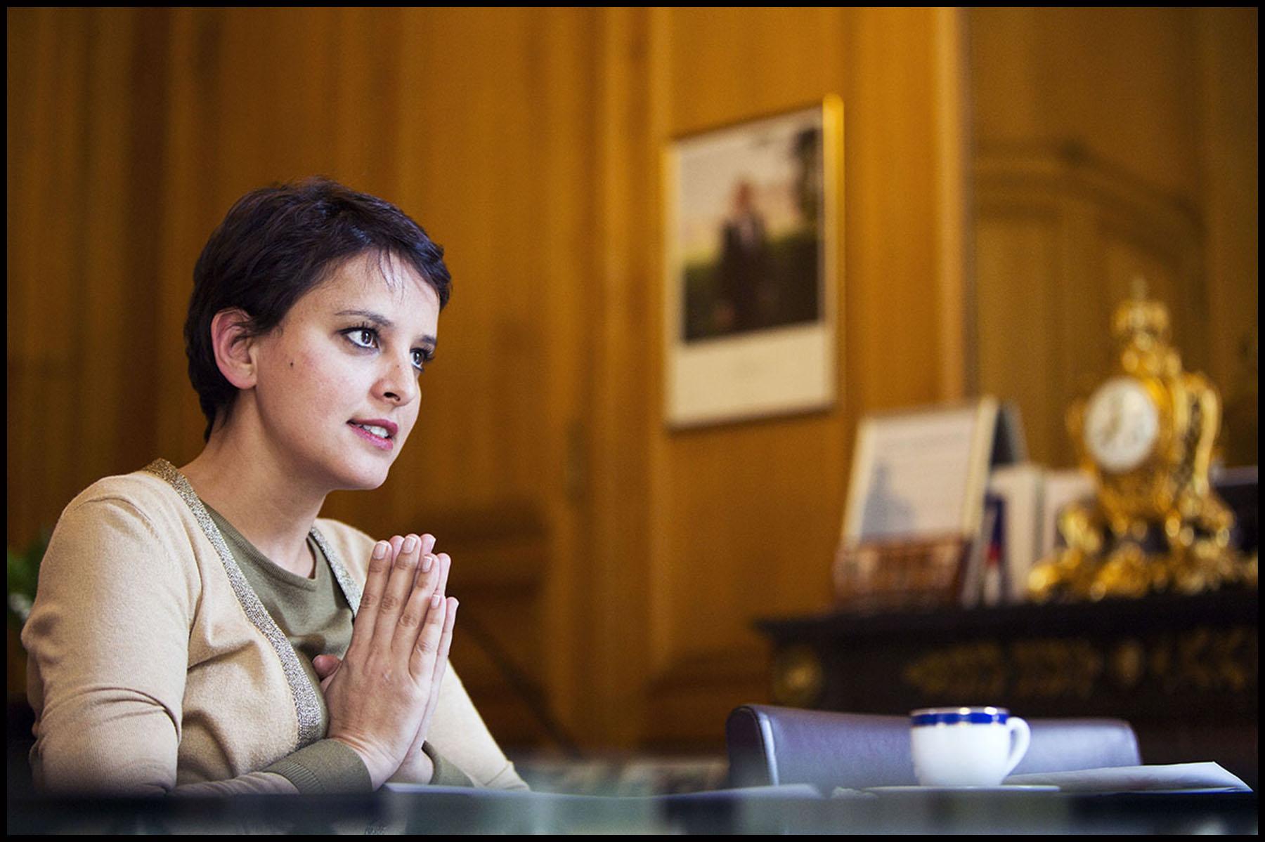 Najat VALLAUD-BELKACEM, ministre de l'Éducation nationale, de l'Enseignement supérieur et de la Recherche