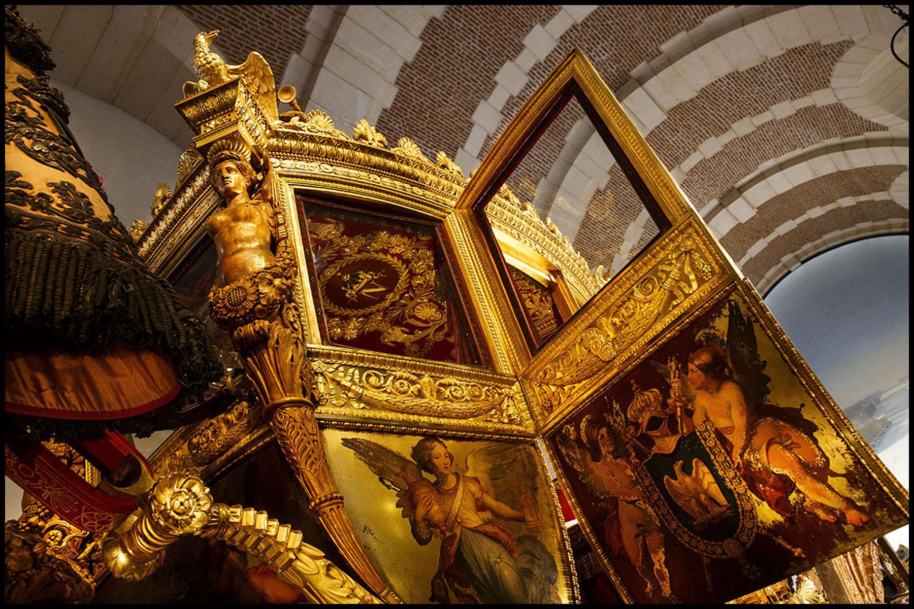 Réouverture de la galerie des carrosses à la Grande Ecurie du roi au château de Versailles