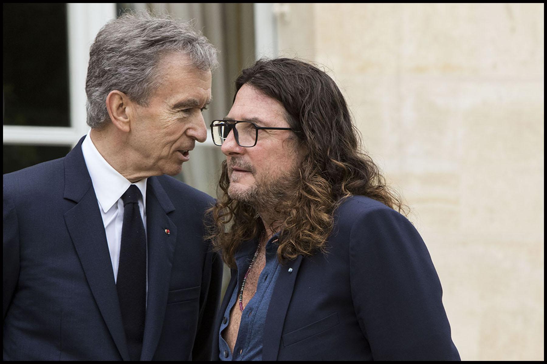 Le Président de la République François HOLLANDE reçoit pour un déjeuner à l'Elysée les patrons des grands groupes industriels ou start-up du numérique présents au salon Viva Technology.
