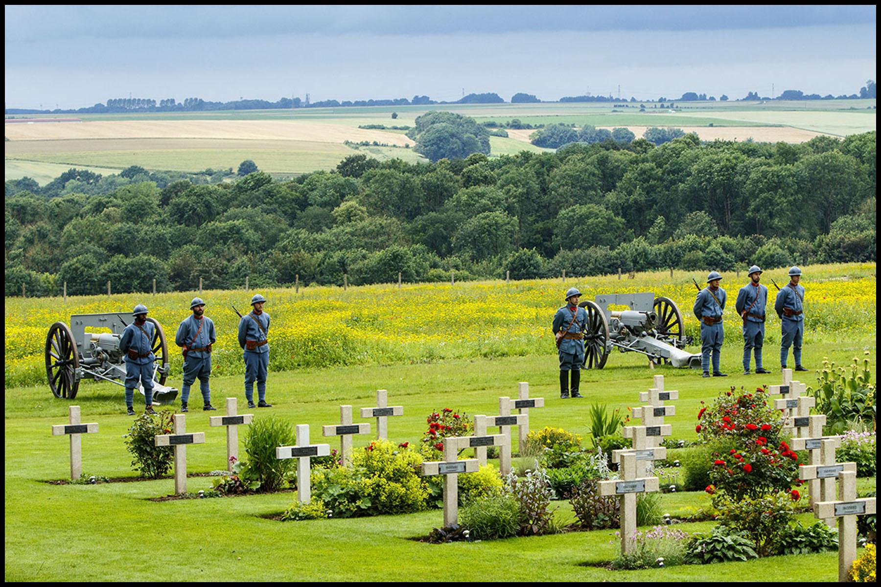 Cérémonie du centenaire de la bataille de la Somme à Thiepval