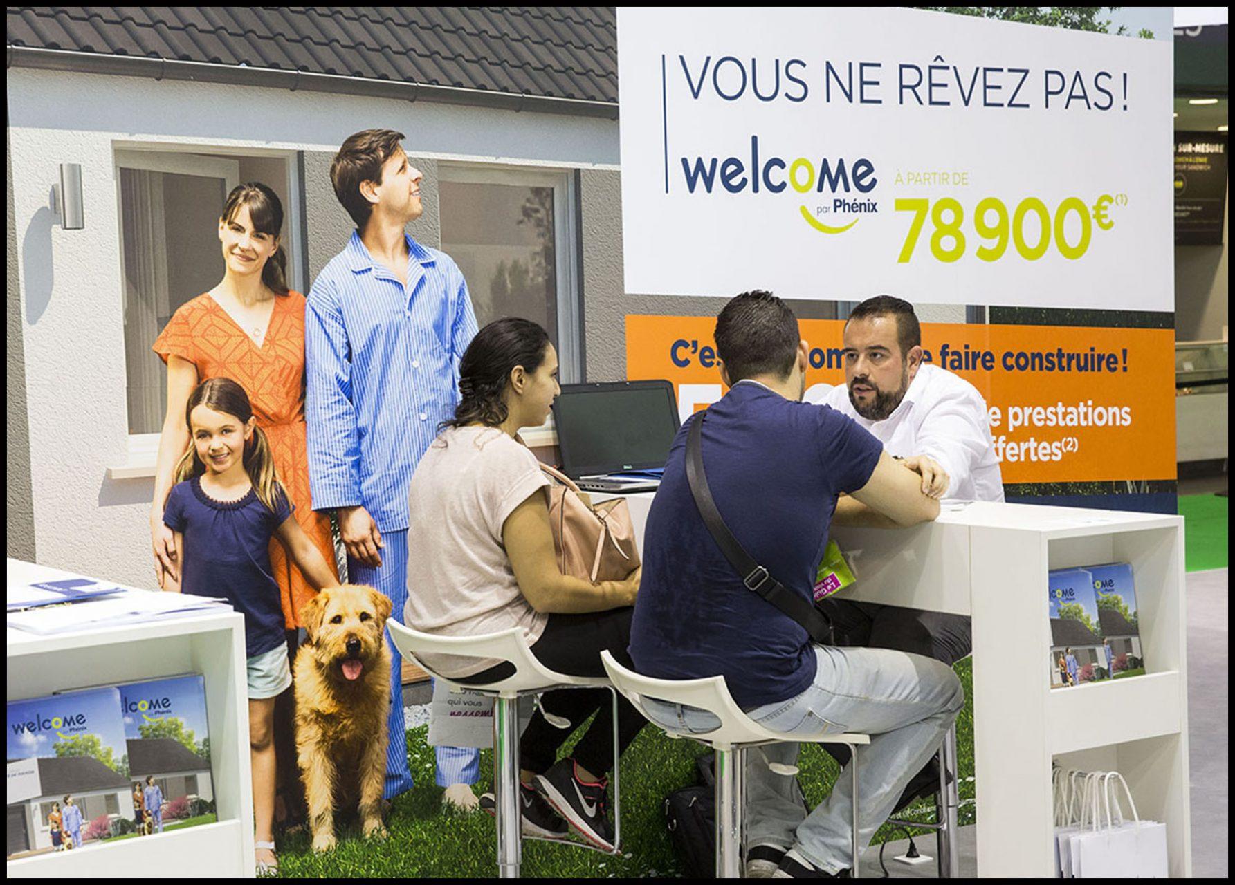 Salon Faire Construire Sa Maison, porte de Versailles à Paris