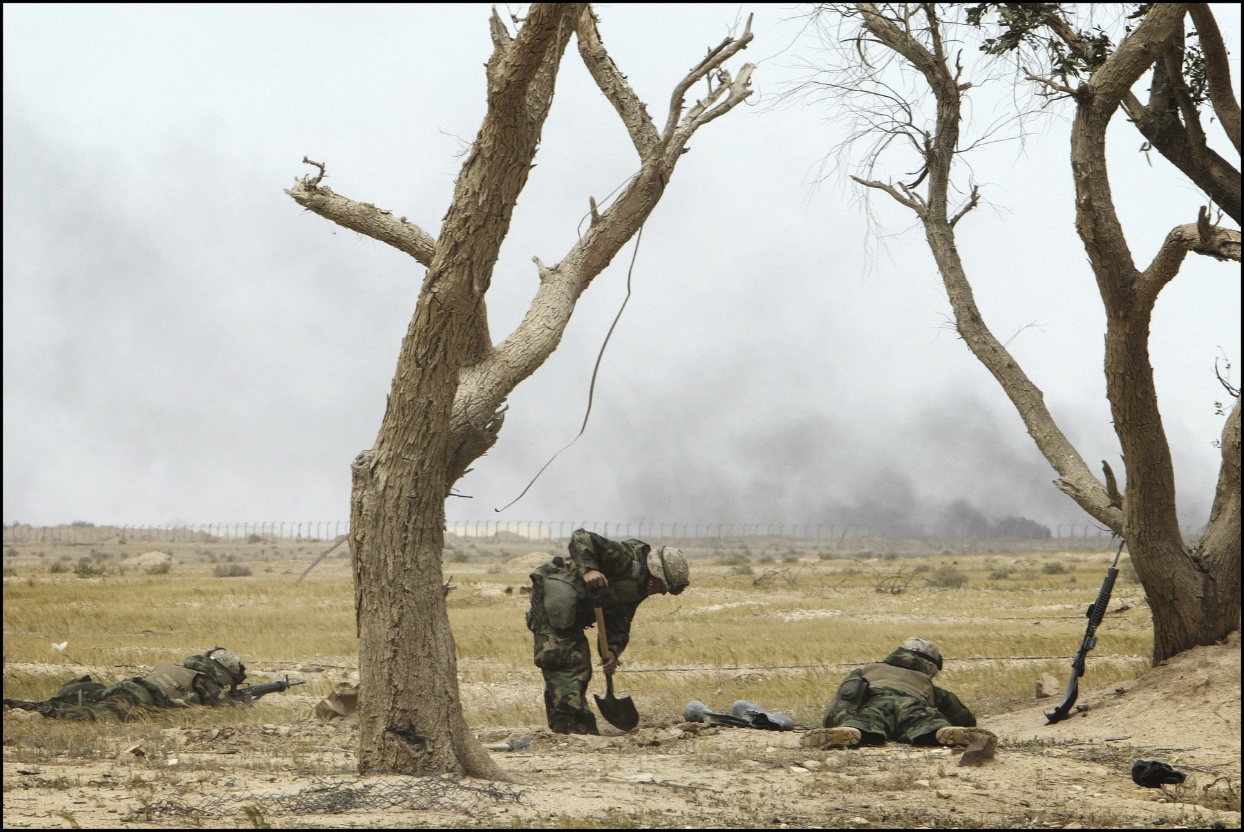 On the road to Baghdad with the 3/4 marines