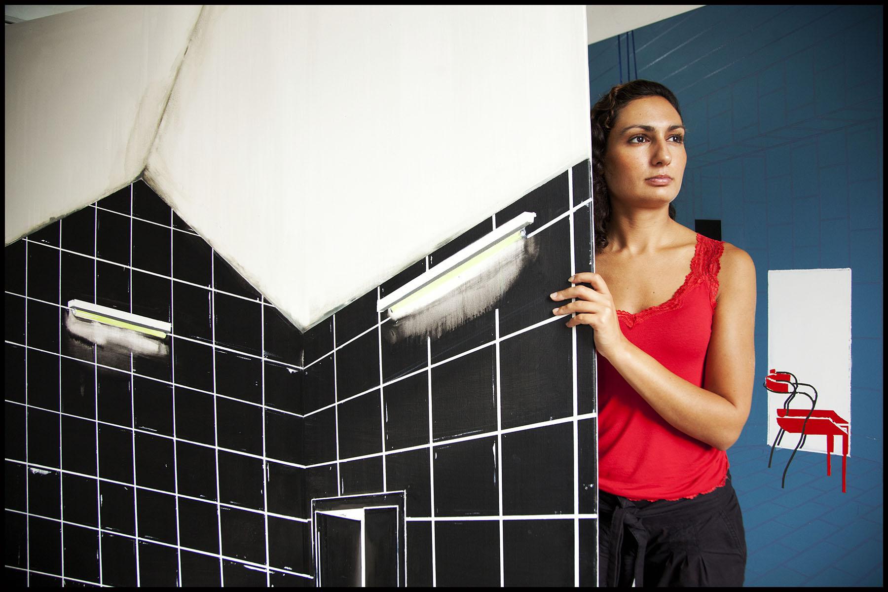 Farah ATASSI, artiste peintre