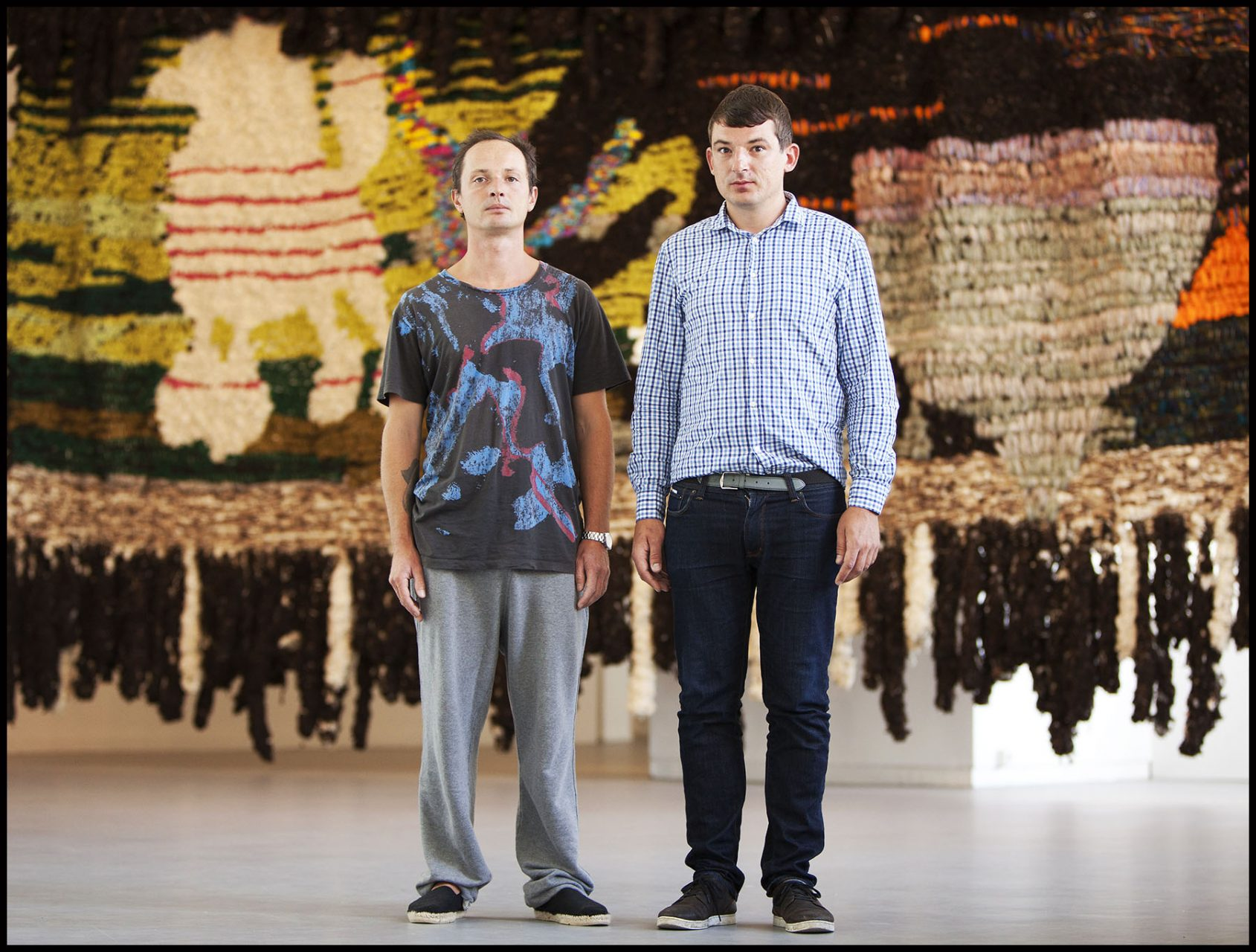 Gregory Gicquel et Daniel DEWAR, artistes plasticiens