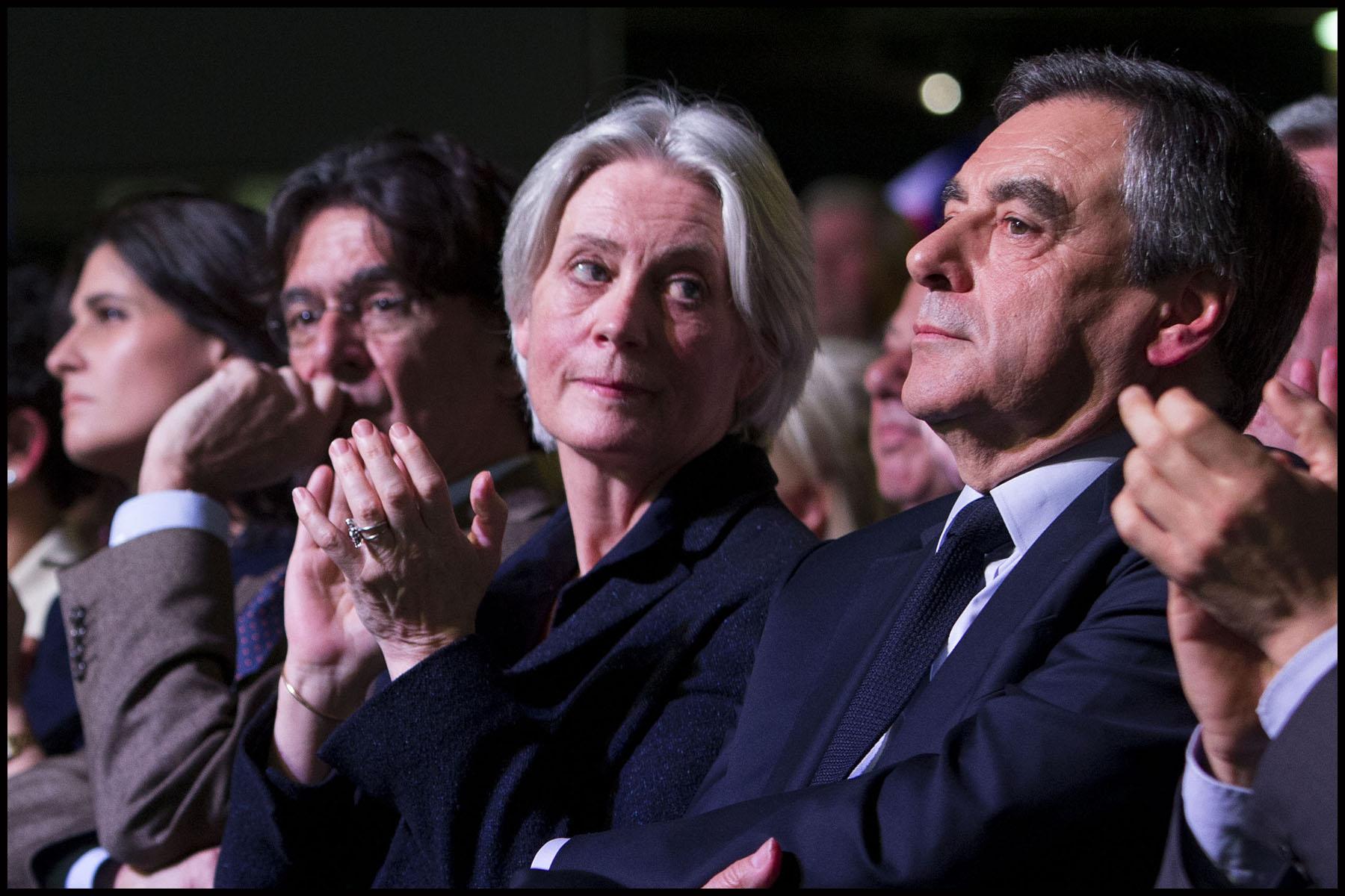 Meeting du Candidat de la droite et du centre François FILLON à la Porte de Versailles à Paris