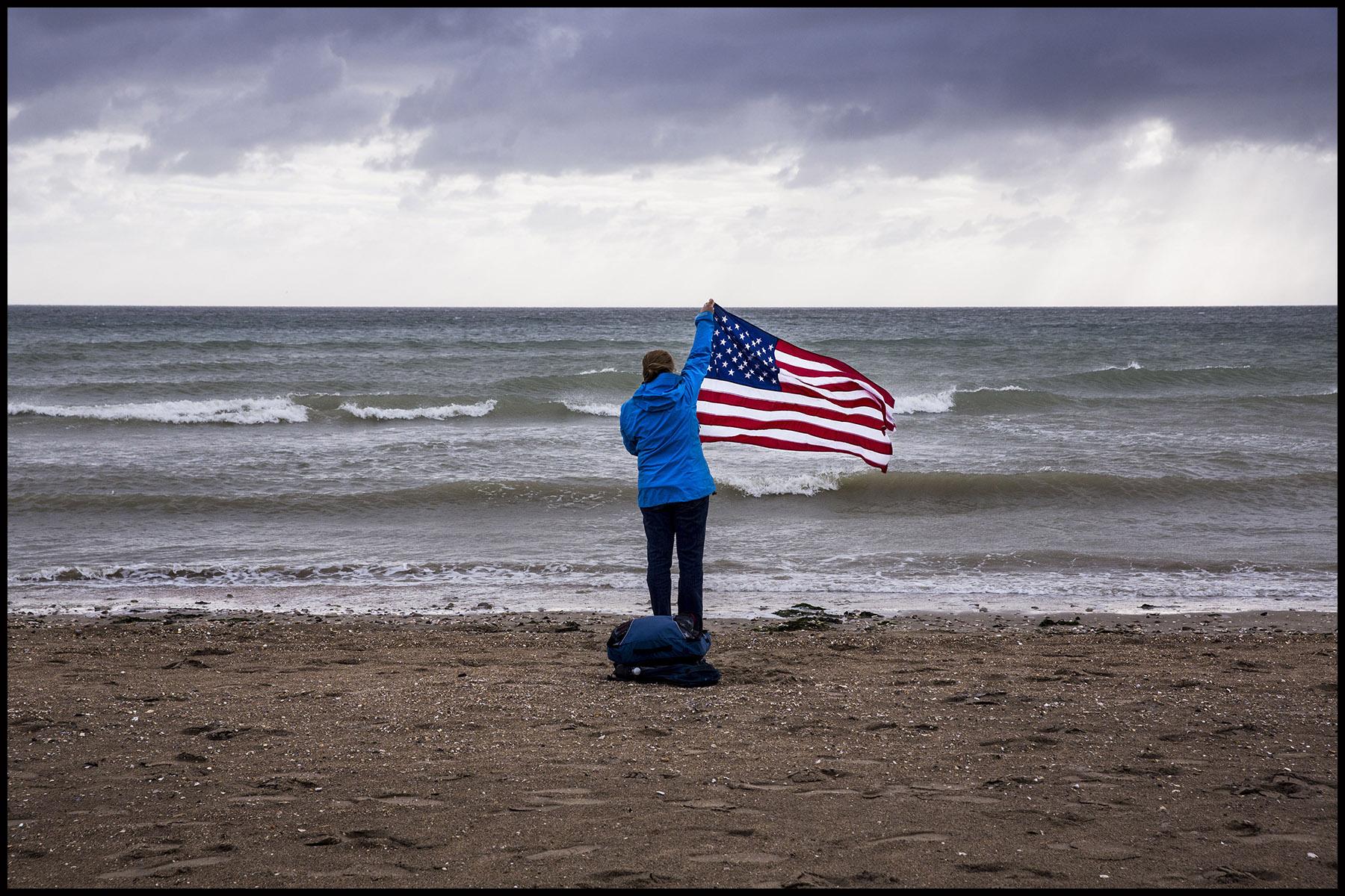 Célébrations du 73ème anniversaire du Débarquement allié en Normandie.