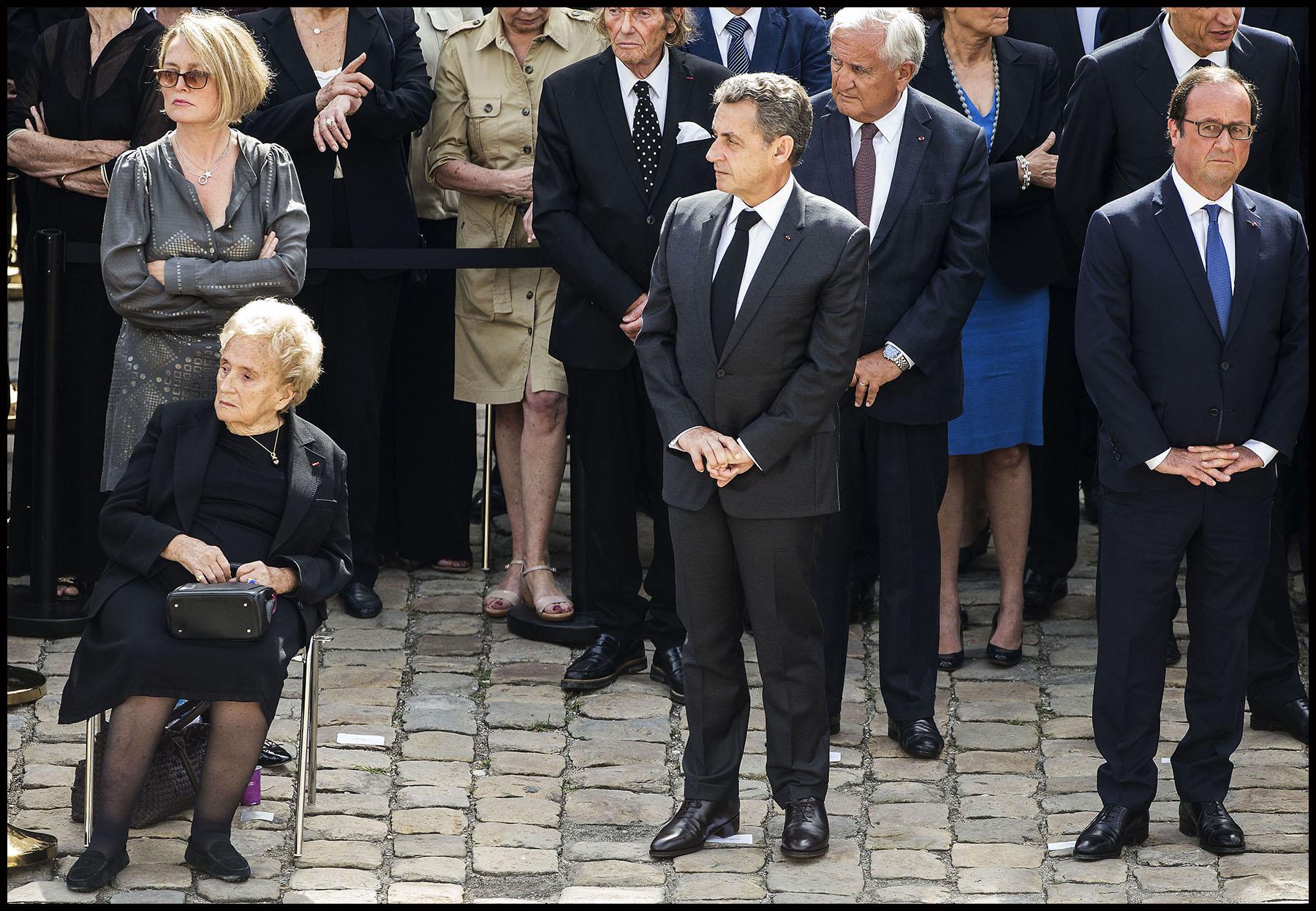 Cérémonie d'hommage à Simone VEIL à l'Hôtel National des Invalides