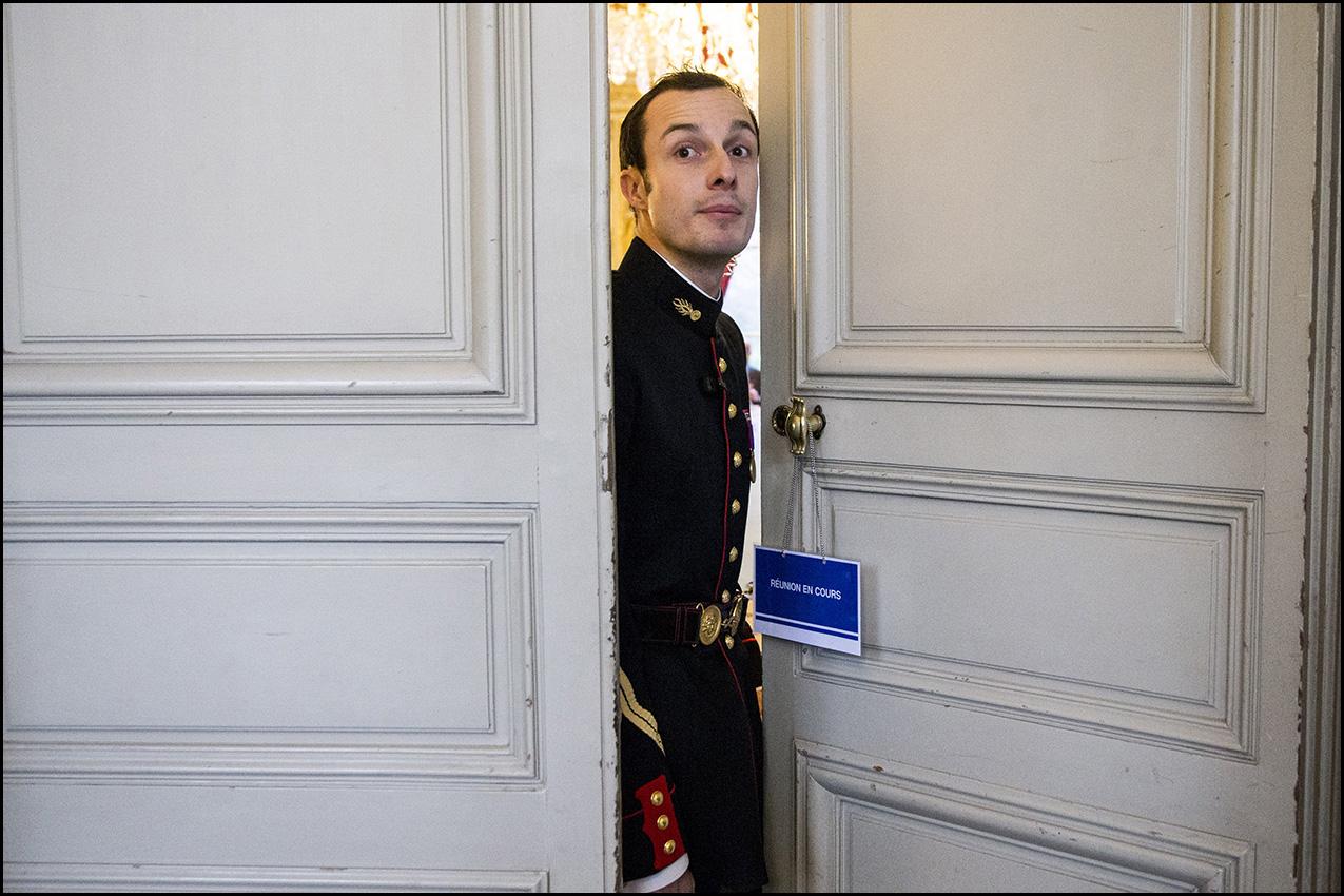 Le Premier Ministre consulte à Matignon au sujet de l'aéroport de Nantes Notre Dame des Landes