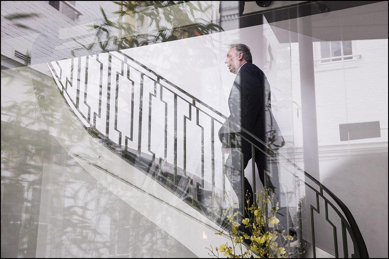 Voeux de François Bayrou, président du Modem