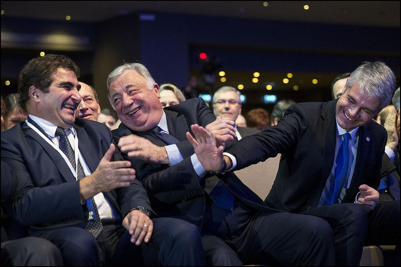 Conseil National du parti Les Républicain à La Mutualité.