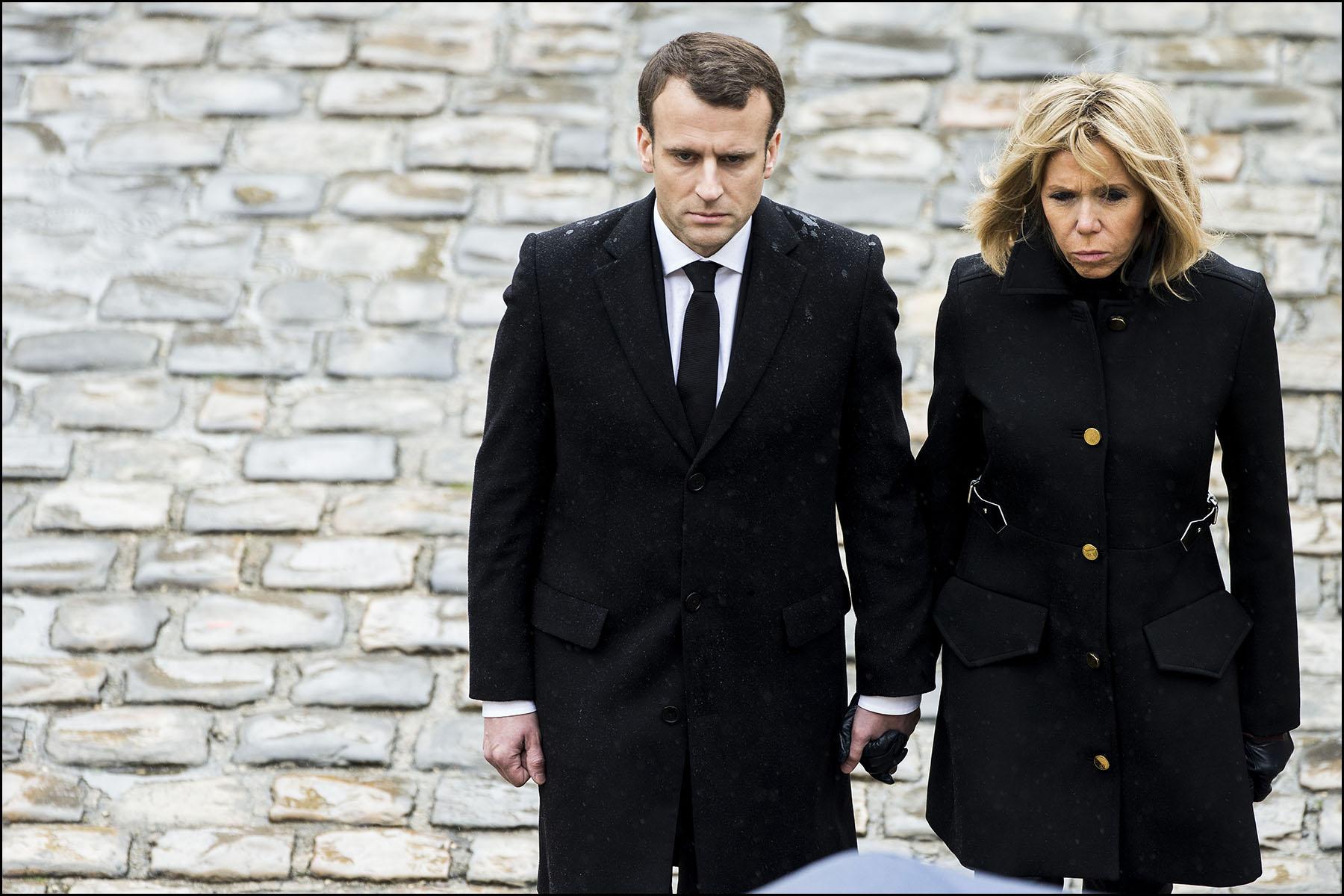 Hommage national au colonel Arnaud BELTRAME à l'hôtel des Invalides