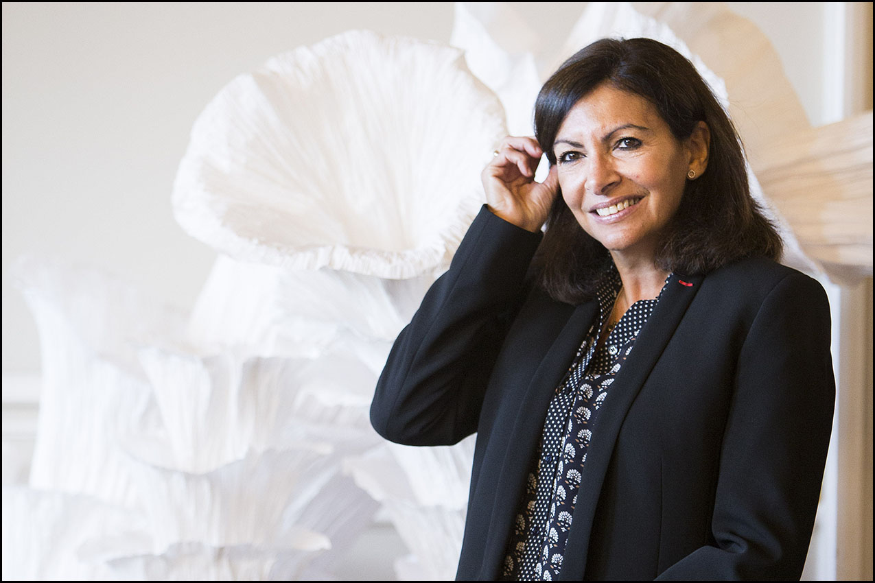 Anne Hidalgo reçoit le Prix de la Fondation Européenne du Poumon.