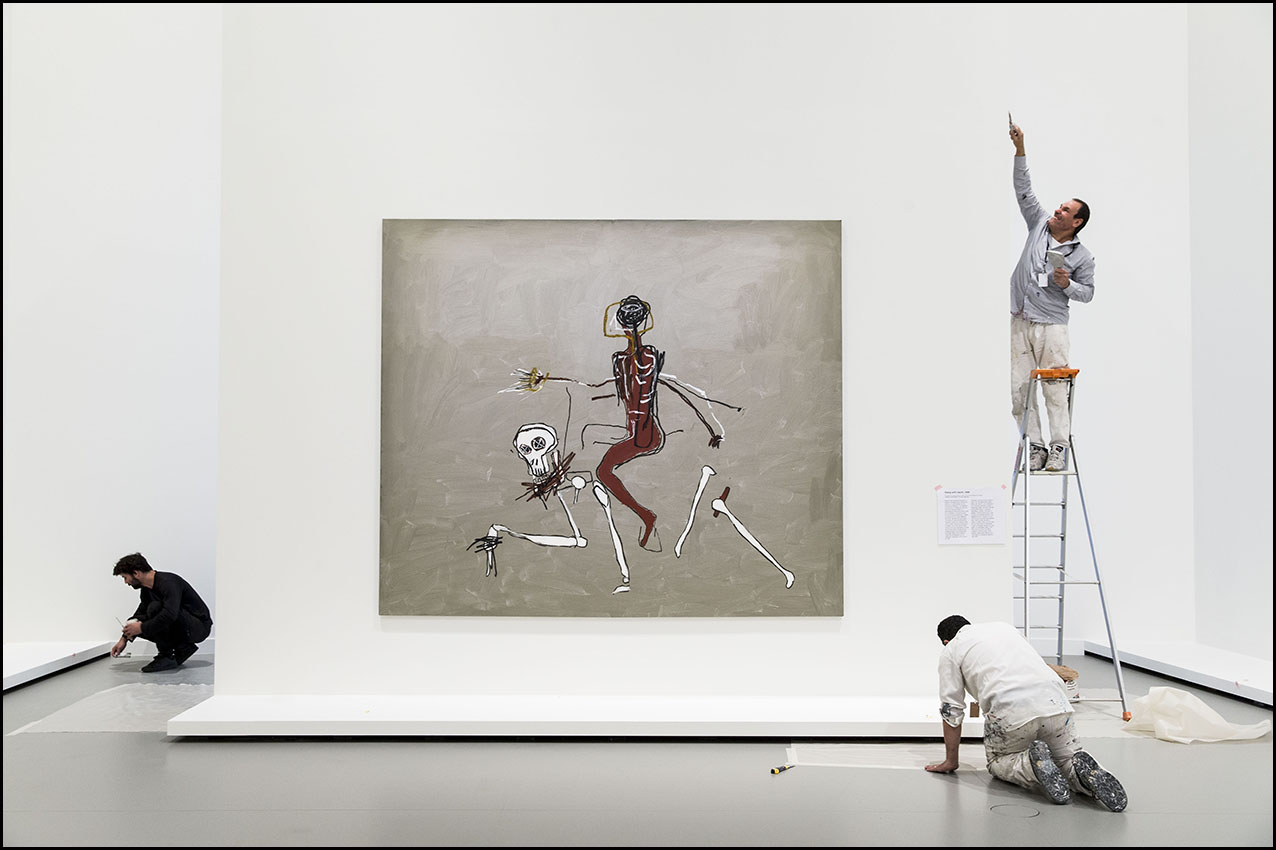 Exposition Jean-Michel BASQUIAT à la Fondation Louis Vuitton à Paris