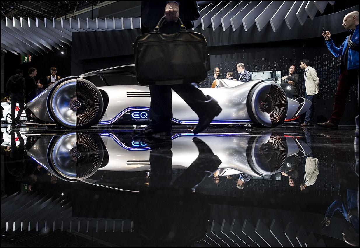 Mondial Paris Motor Show 2018, le salon de l'auto de la porte de Versailles.