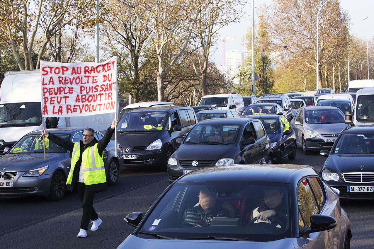 Journée de mobilisation des gilets jaunes à Paris