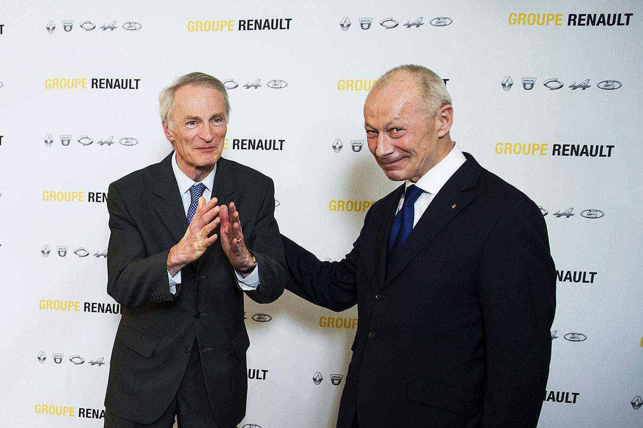 Jean-Dominique SENARD et Thierry BOLLORE, un binôme pour succéder à Carlos GHOSN.