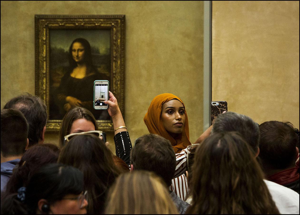La Joconde de Léonard de VINCI, reçoit plus de 10 millions de visites par an.