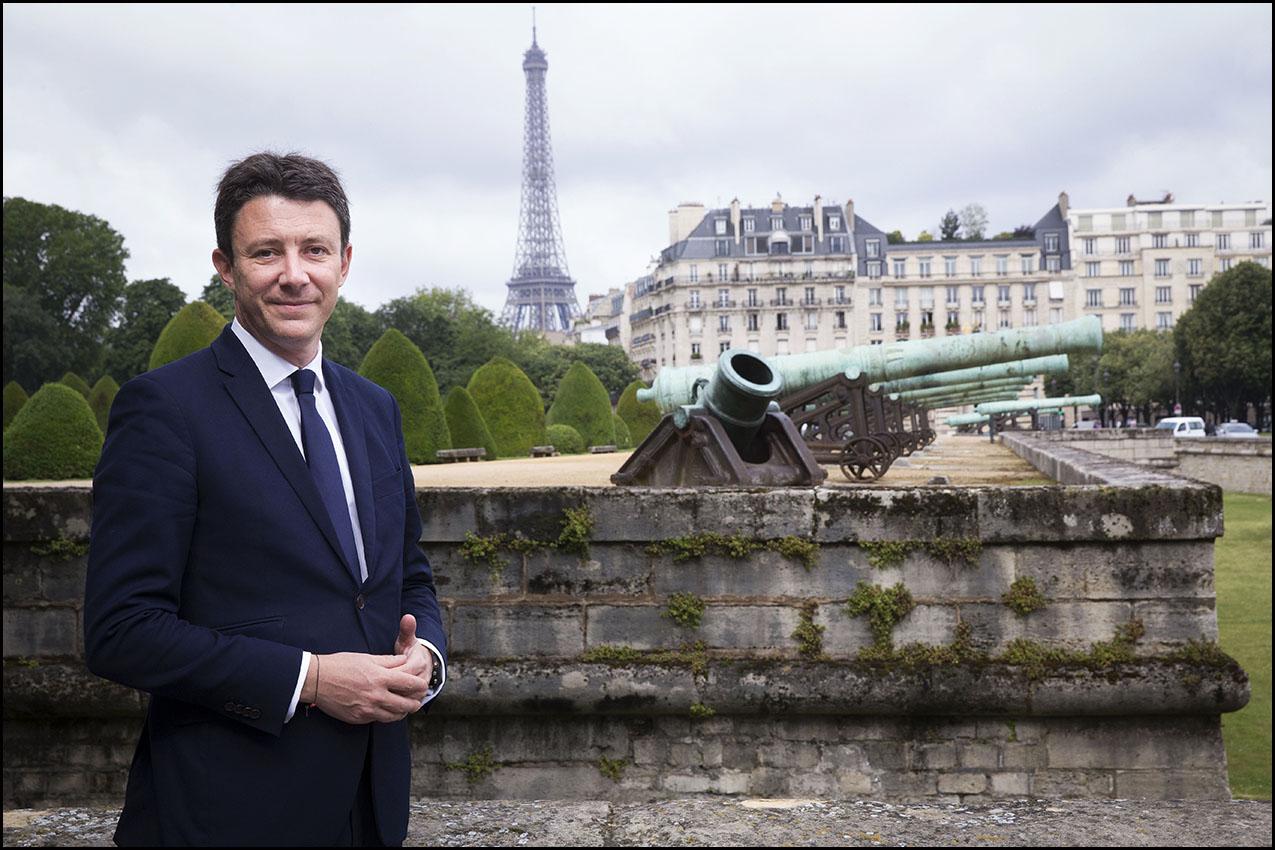 Benjamin GRIVEAUX, candidat à la candidature LREM pour les élections municipales à Paris en 2020.